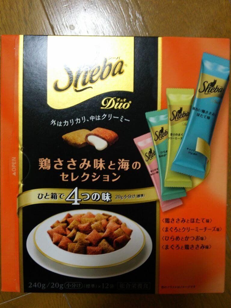 マースジャパン シーバ 鶏ささみ味と海のコレクション